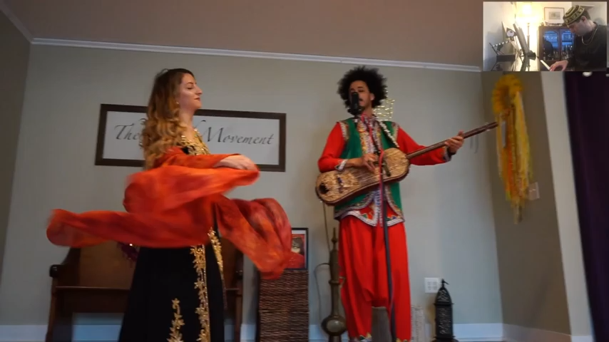 Bellydancing with Jackie – Jewish Gnawa Project – Mimouna 2021